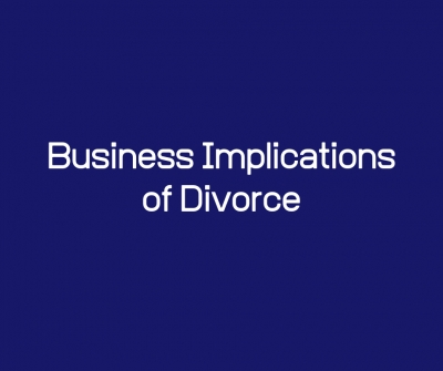 Business Implications of Divorce