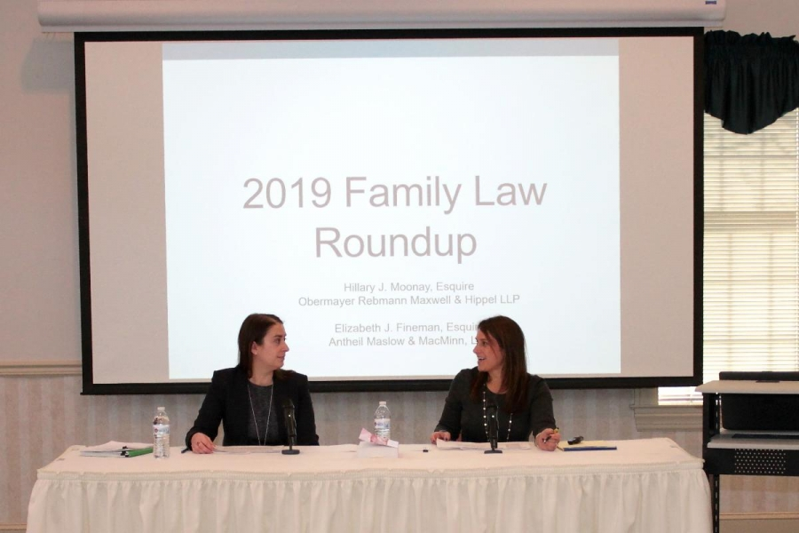 Elizabeth Fineman Presents Family Law Update at Bar Foundation