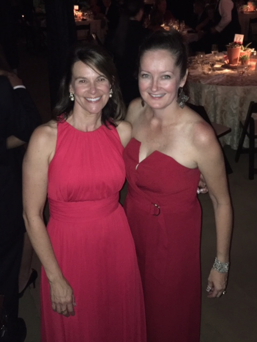 Lisa Gaier & Jessica Pritchard Attend the Red Ball Gala