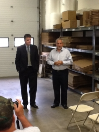 Congressman Mike Fitzpatrick Visited Harwood Design, Inc.