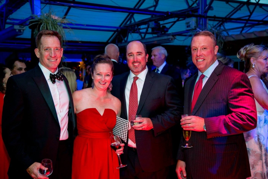 Jessica Pritchard and her husband, Mark attended the CB Chamber's Red Ball Gala